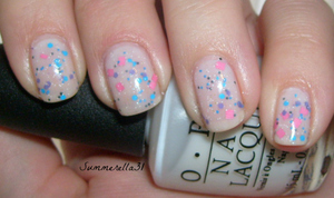 OPI Don't Touch My Tutu! and Lush Lacquer Slumber Party