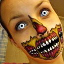 Rotting Zombie Mouth Face Paint