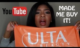 YOUTUBE MADE ME BUY IT HAUL #1 || Zaji-Kali
