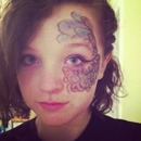 Half Face Mask- Bluejay