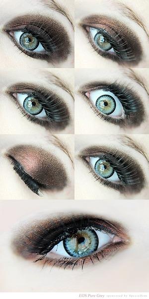 EOS Pure Grey lenses
