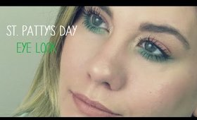 Quick & Simple St. Patrick's Day Eye Look - Peach & Green