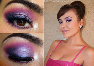 All info and tutorial is up on my blog:  http://www.maryammaquillage.com/2012/04/prom-queen-2012.html