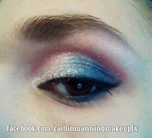 Fooling around with the Cinderella palette for New Year's.