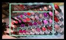 Makeup collection: lippies