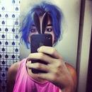 Blue hair!!!!