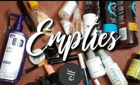 6 Months of Empties WOW!