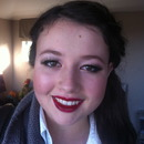 Jess' ball makeup