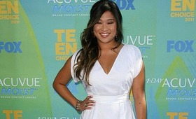 Jenna Ushkowitz at the Teen Choice Awards