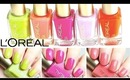 L'oreal Colour Riche Nail Color Swatches