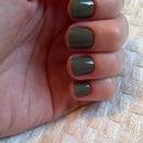 Olive green...