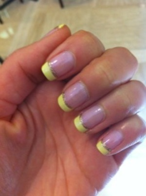my Easter french nail!
