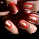 Orange and bronze ruffian