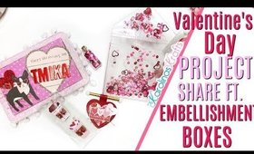 Valentines Day Embellishment Box Group Swap Hosted by ScrapDaWorld PROJECT SHARE