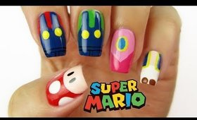 SUPER MARIO NAIL ART | CutePlay Countdown #5!