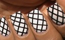Striping tape nail art designs fishnet beginners easy how to nails art striping tape tutorial video