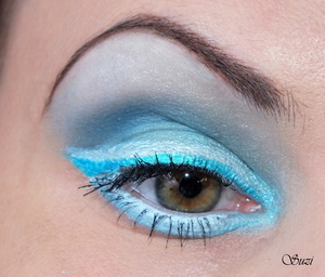 make-up part of Four Elements Challenge by Taya