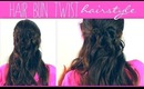 ★ CUTE HAIR-BALL BUN HALF-UP HAIRSTYLE TUTORIAL | FOR MEDIUM LONG HAIR | Everyday Peinados
