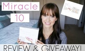Miracle 10 | Review and Giveaway!!!