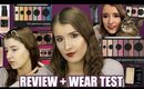 NEW! COVERGIRL FULL SPECTRUM COLLECTION REVIEW + WEAR TEST!