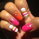 Fun Bright Nails