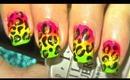 Rainbow leopard nailart tutorial-inspired by Klaire de lys.... :-)