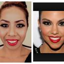 Kourtney Kardashian Inspired makeup look :)