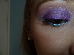 Look from my Jewelled Eyes tutorial