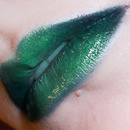Green gradient Lips