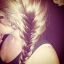 French fishtail braid 💕
