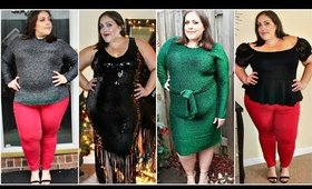 PLUS SIZE HOLIDAY LOOKBOOK 2019 | 5 CHRISTMAS PARTY OUTFITS