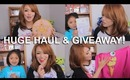 HAUL & GIVEAWAYS (Japanese beauty products & Luna backpack giveaway)