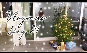 Decorating the Christmas Tree | Vlogmas Day 24 ♡