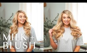 Milk + Blush | Luxurious and Deluxe Hair Extensions Comparison