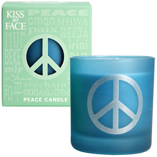 Kiss My Face Grassy Mint Peace Candle
