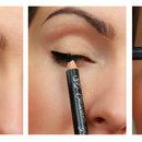 Eyeliner With Black Pencil
