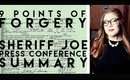 Obama's Birth Certificate: 9 Points of Forgery Press Conference Summary