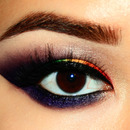 Rainbow Smokey Eyes
