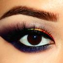 Rainbow Smokey Eyes