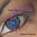 Medusa's Makeup Purple Rain & Ultra Violence (open eye)