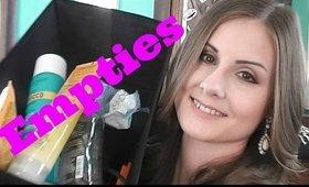 Empties April 2016 | Angela Marie