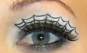 Halloween Spider Web Eyes