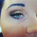 Blue brows