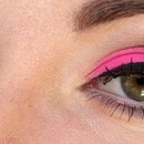 pink in black