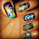 my galaxy nails!