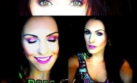 Pops Of Purple Makeup Tutorial