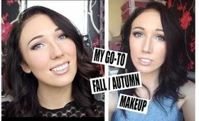 Makeup Tutorial: My Go-To Fall/Autumn Makeup