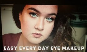 everyday eye makeup, feat. makeupgeek
