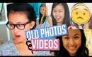 Me Reacting To Old Photos & Videos | Middle School