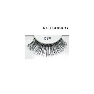 Red Cherry False Eyelashes #82